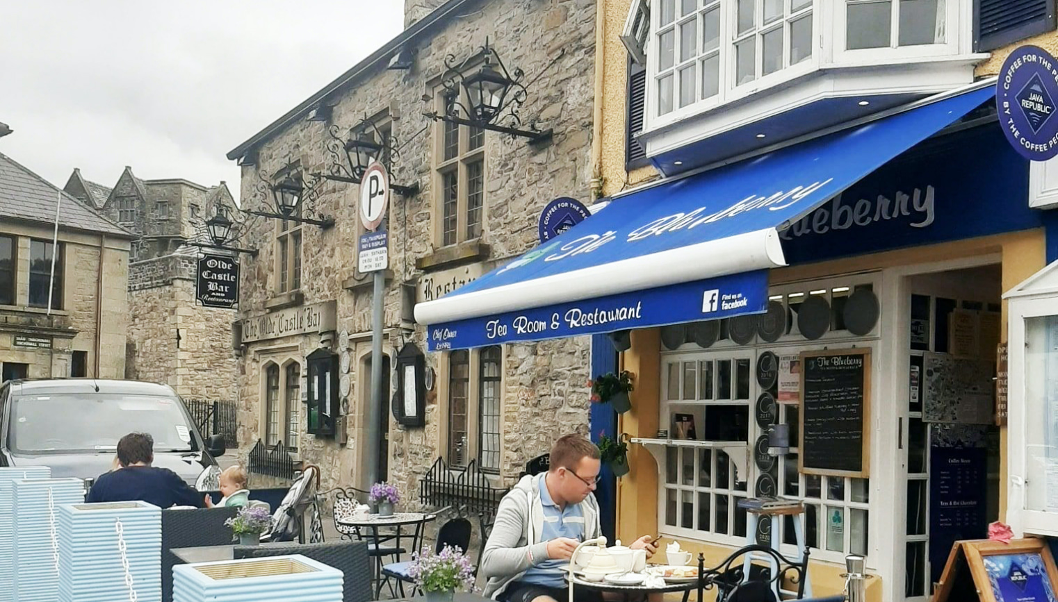 Blue Berry Tea Rooms Restaurant Donegal Town